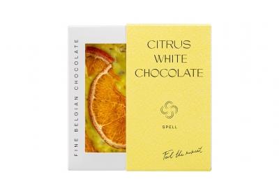Білий шоколад з цитрусом