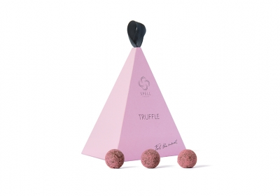 Pink Truffle Cone