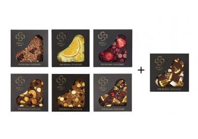 6+1 Spell Chocolate Bars