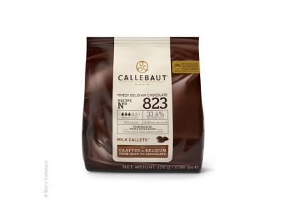 callebaut finest belgian chocolate milk callets