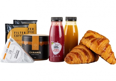 """Набір до сніданку """"Великий сніданок з круасанами"""""""