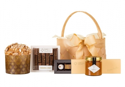 Easter Basket with Salted Caramel