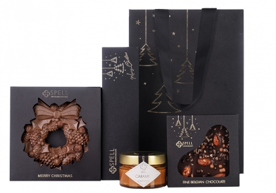 Chocolate Christmas set