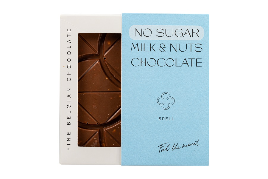 NO SUGAR Milk and nuts chocolate