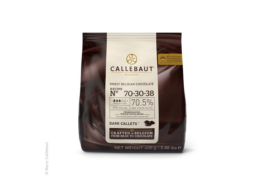 callebaut finest belgian chocolate extra dark callets