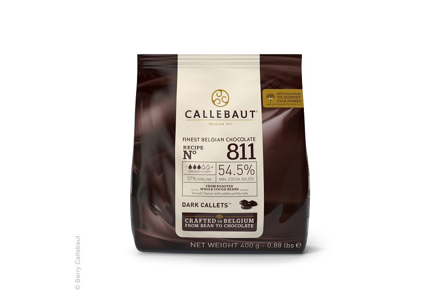 callebaut finest belgian chocolate dark callets