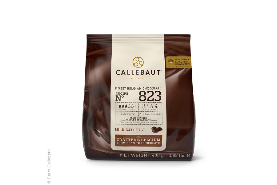 callebaut finest belgian chocolate milk callets
